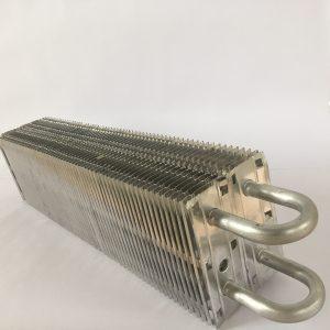 Испаритель для витрины 760x120x160мм, шаг 9 мм